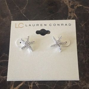 Lauren Conrad Starfish Earrings